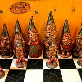 Figurines de gnomes