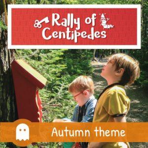 Rallye of Centipedes - autumn